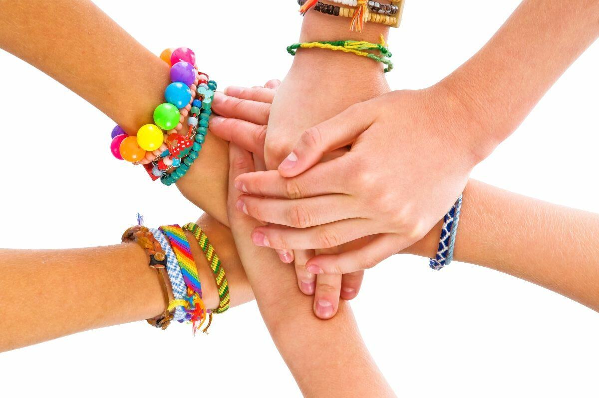 Craft a Friendship Bracelet or Keychain