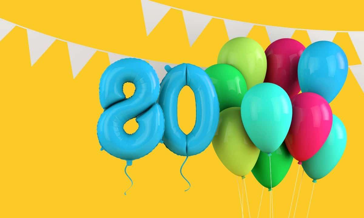Birthday Gift Guide for Milestone Birthdays, 80
